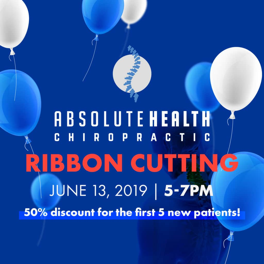 Absolute Health Chiropractic Ribbon Cutting Celebration